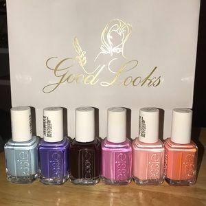 Set of 6 Essie polishes